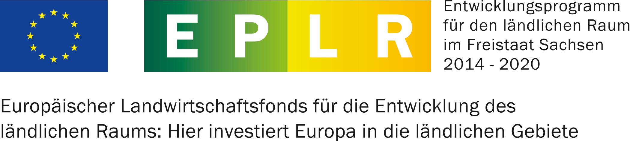 Logo Entwicklungsprogramm für den ländlichen Raum im Freistaat Sachsen