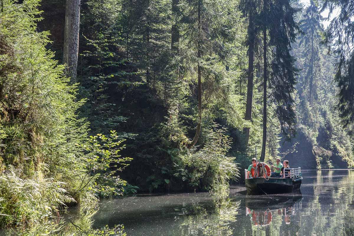 Bootsfahrten in der Sächsischen Schweiz