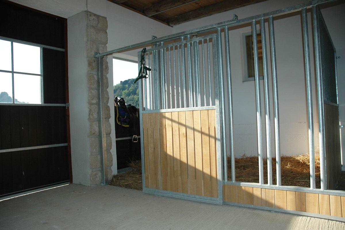 Pferdebox im Stall