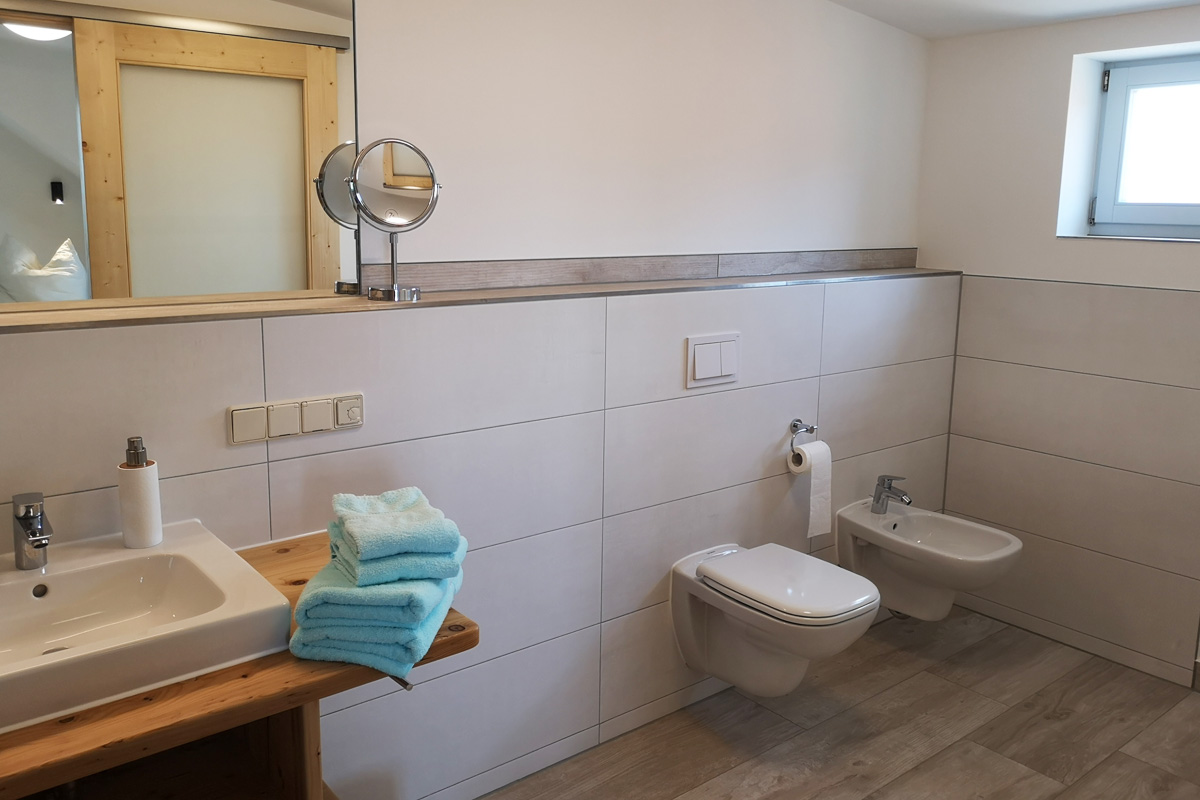 Badezimmer 2 mit WC und Bidet